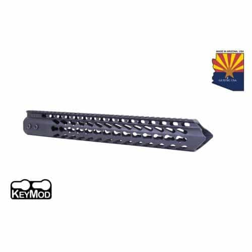 "AR15 Warhead Series 15"" KeyMod Handguard In Black"