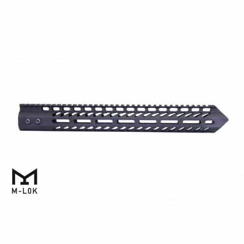 "AR-15 Warhead Series 15"" M-LOK Free Float Handguard Black"