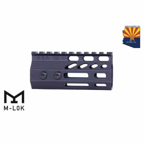 "4"" Ultra Slimline Octagonal 5 Sided M-LOK Free FloatingHandguard"