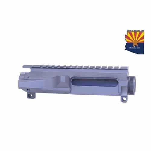 AR-15 Stripped Billet Upper Receiver In Sniper Grey