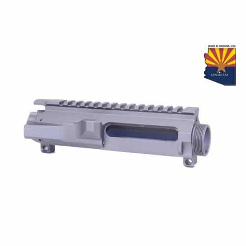 AR-15 Stripped Billet Upper Receiver In Tungsten