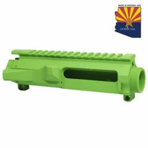 AR-15 Stripped Billet Upper Receiver In Zombie Green