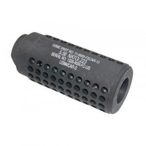 3 inch Mini Socom Slip Over Fake Suppressor with Holes