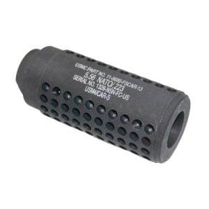 3 inch Mini Socom Slip Over Fake Suppressor with Holes