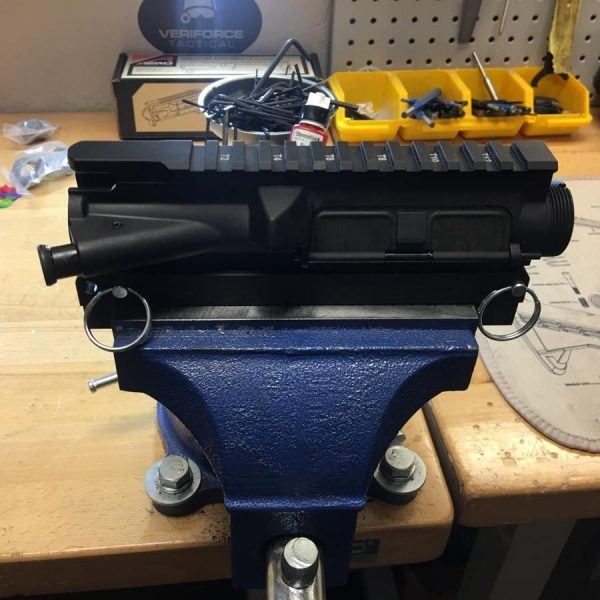 Dual Use Upper Receiver Vise Block for 5.56 .223