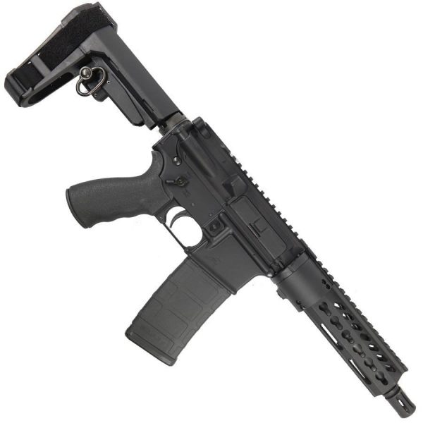 """AR15 Pistol Upper Combo 7"""" KeyMod with SBA3 Brace COMPLETE Pistol"""