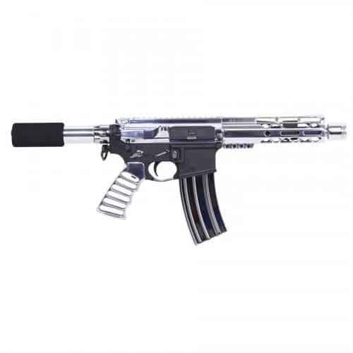 AR15 M-LOK Complete Pistol Upper Set Hight Polish PISTOL