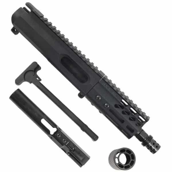 AR15 9MM Complete Upper Receiver with 4 inch M-LOK and MCBS