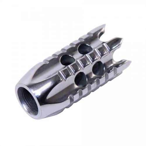 AR15 556 Spartan Door Breacher Muzzle Brake High Polish