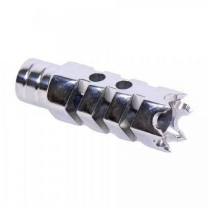 AR15 556 Spike Door Breacher Muzzle Compensator High Polish