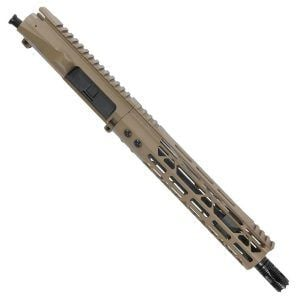 "AR-15 Pistol Upper 5.56 10.5"" FDE Upper With M-LOK Handguard"