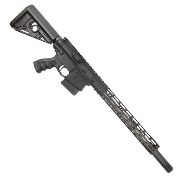 AR 308 Complete Upper With 15 Inch ModLite M-LOK And Fake Can Black Rifle
