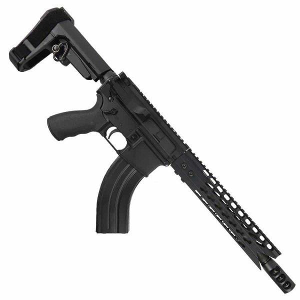 AR15 7.62X39 10.5 Pistol Upper With Shark Handguard and Tank Brake