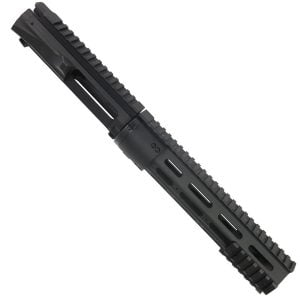 AR15 Upper And 10 Inch Modular Slim Profile Handguard Combo