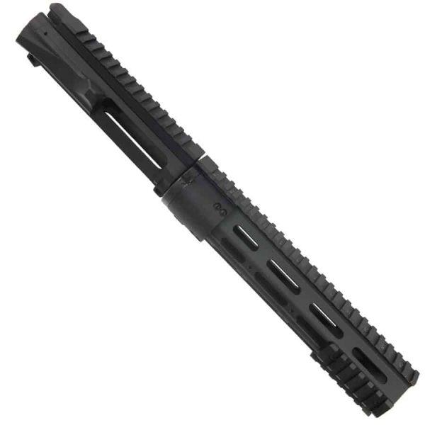 AR15 Upper And 10 Inch Modular Slim Profile Handguard Combo