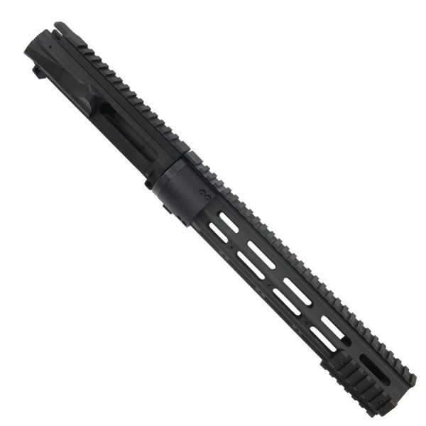 AR15 Upper And 12 Inch Modular Slim Profile Handguard Combo