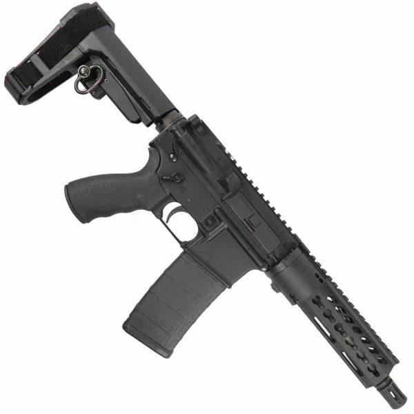 AR15 Pistol Upper With 7 Inch KeyMod Handguard