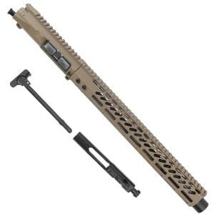 AR15 6.5 Grendel Complete Upper Receiver Type 2 with BCG FDE Raider Series