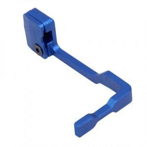 AR-15 BOLT CATCH RELEASE LEVER BLUE