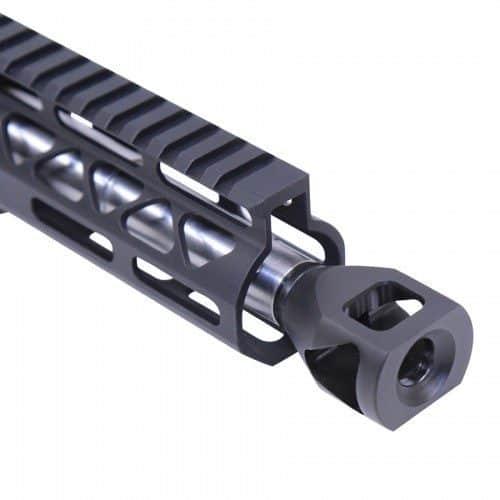 AR-15 Micro Tank 9mm mounted