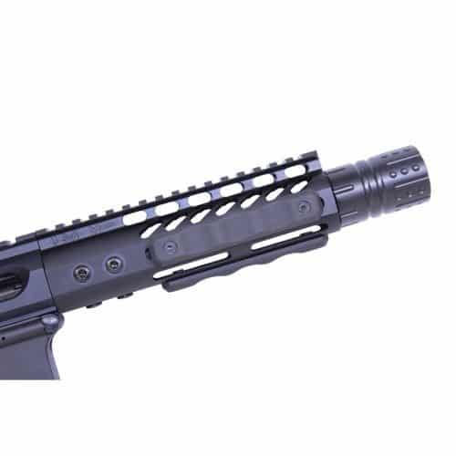 AR-15 rubber coated mlok covers 4