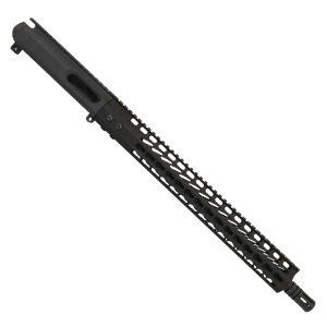 "AR-15 9MM PCC Billet Upper Receiver in KeyMod 15"" Handguard"