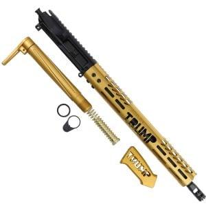 Anodized Gold Trump MAGA AR-15 Upper Kit