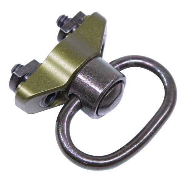 Anodized OD Green Quick Detach Sling Swivel for M-LOK