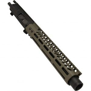 AR-308 LR308 .308 caliber Complete Pistol Upper Receiver RIP Series in OD Green