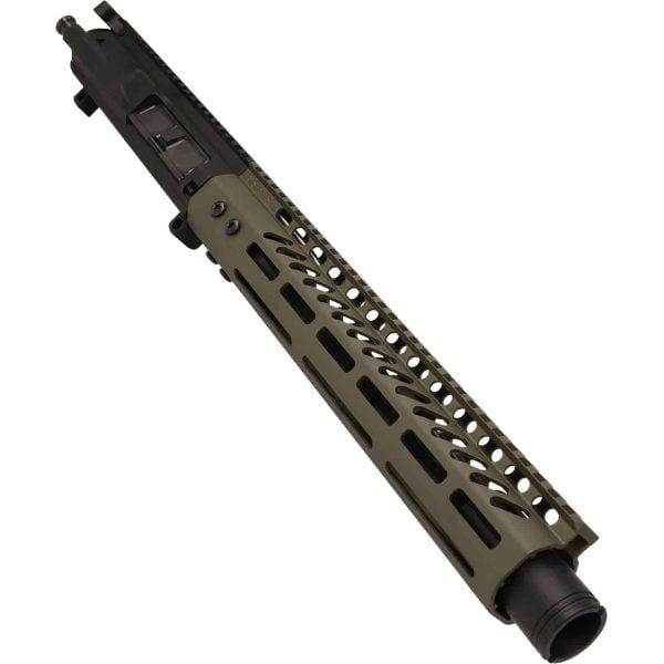 AR-308 LR308 .308 caliber Complete Pistol Upper Receiver RIP Series in OD Green