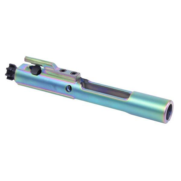 Rainbow PVD (Physical Vapor Deposition) Bolt Carrier Group BCG for AR-15 Oil Free left side