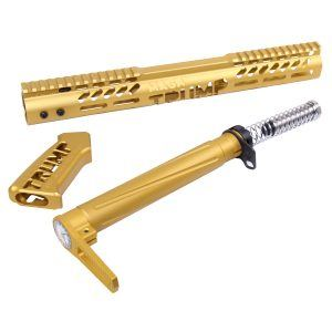 "AR-15 ""Trump"" Series Limited Edition Pistol Grip in Anodized Gold"