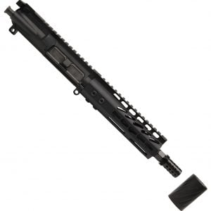 "AR-15 5.56 Pistol Upper Assembly with 6.75"" KeyMod Handguard and MCBS System"