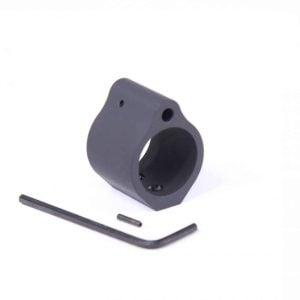 AR-15 .936 Steel Low Profile Gas Block for Bull Barrels (Nitride)
