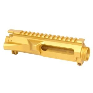 AR Gold Billet Stripped Upper Receiver for 5.56 .223 300 blackout