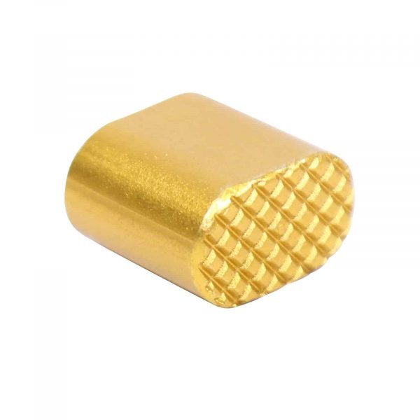 AR-15 Extended Mag Button in Anodize Gold