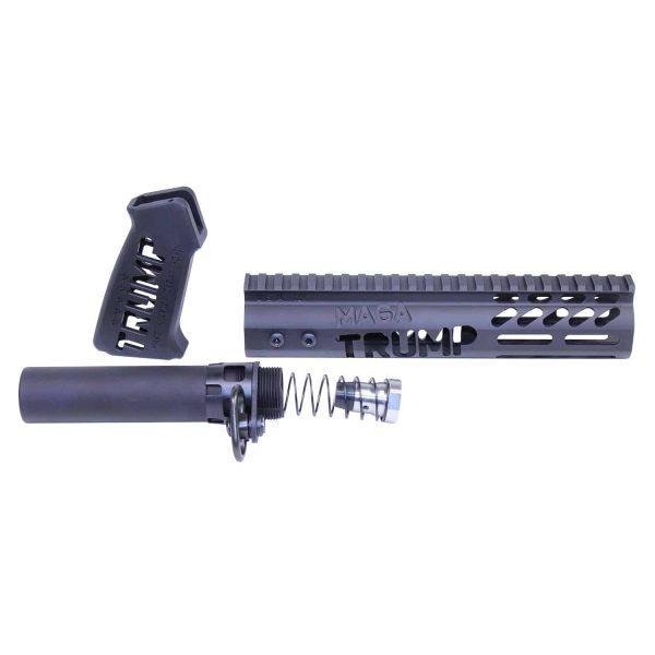 Trump Anodized Black AR Pistol build kit