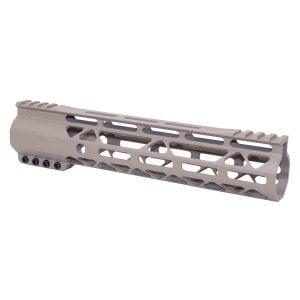 10 FDE Mod Lite AR-15 handguard in M-LOK