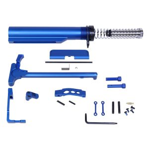 AR-15 Complete Accessory Kit in Anodized Blue