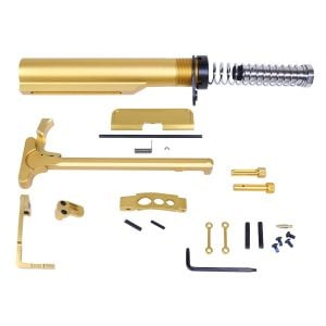 AR-15 Complete Accessory Kit in Anodized Gold