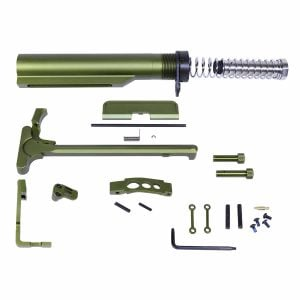AR-15 Complete Accessory Kit in Anodized Green