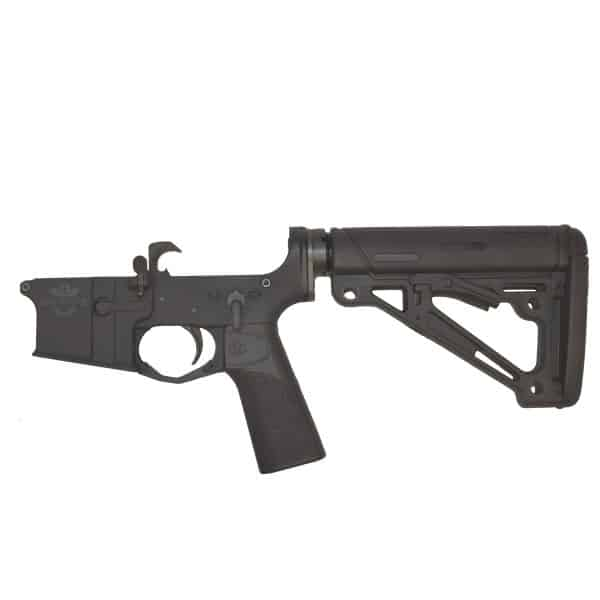 North Star Arms Complete Lower Receiver with Hogue furniture