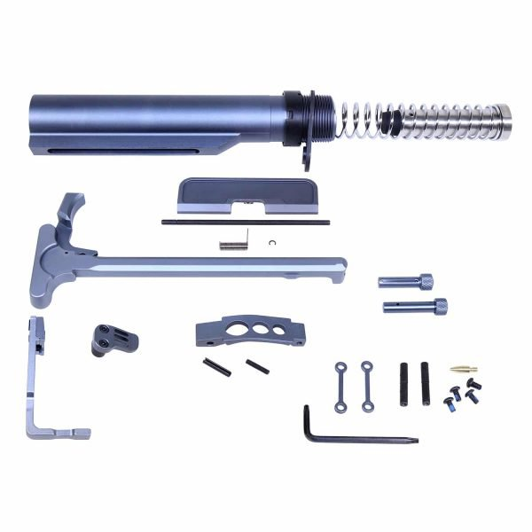 AR-15 Complete Accessory Kit in Anodized Grey