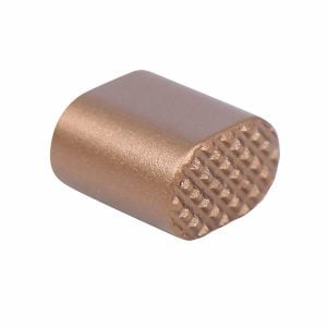 AR-15 Extended Magazine Release Button in Anodized Bronze