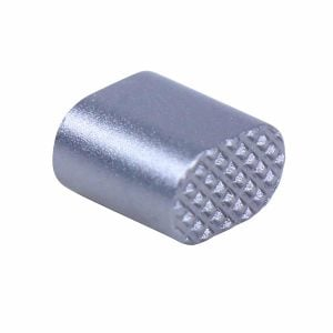 AR-15 Extended Magazine Release Button in Anodized Grey