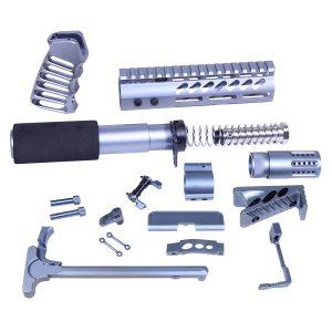 AR-15 Ultimate Pistol Build Kit in Anodized Gray